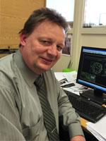 Bernd Hunze, technische Leitung